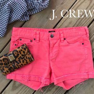 J Crew matchstick women's jeans shorts